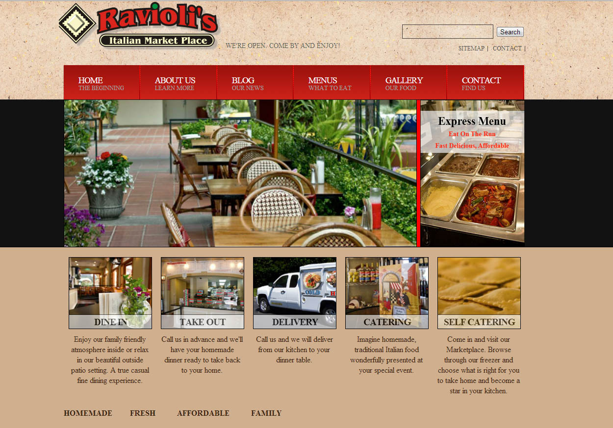Walnut Creek/Concord based Ravioli's Market launches new website